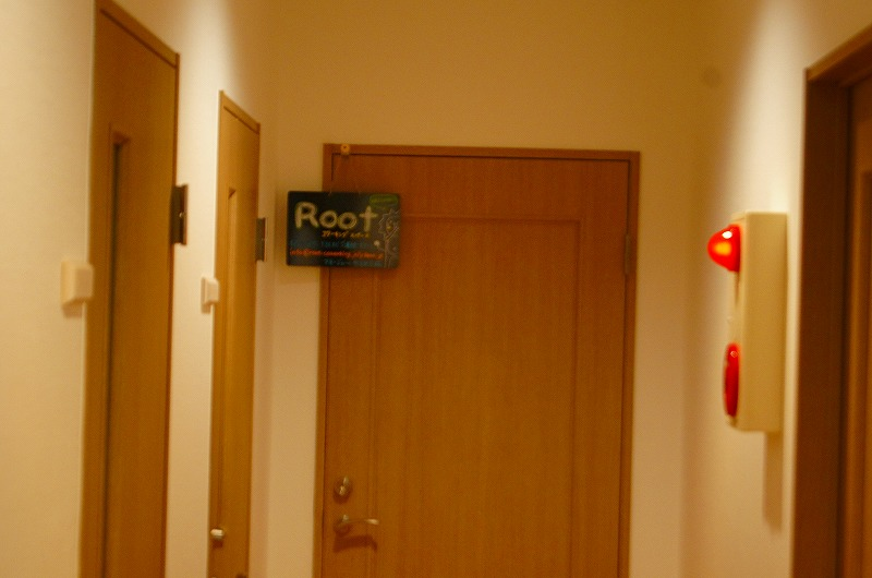 突き当りのお部屋です。