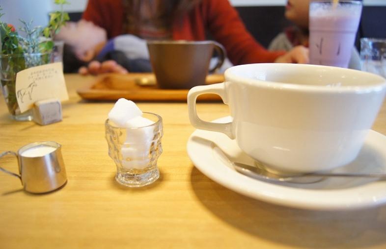 たっぷりなコーヒーを楽しみましょう。