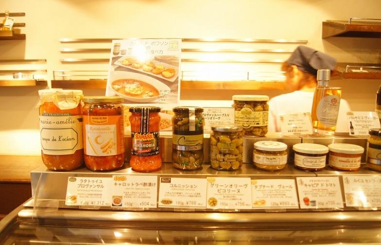 輸入系の食材もあります。