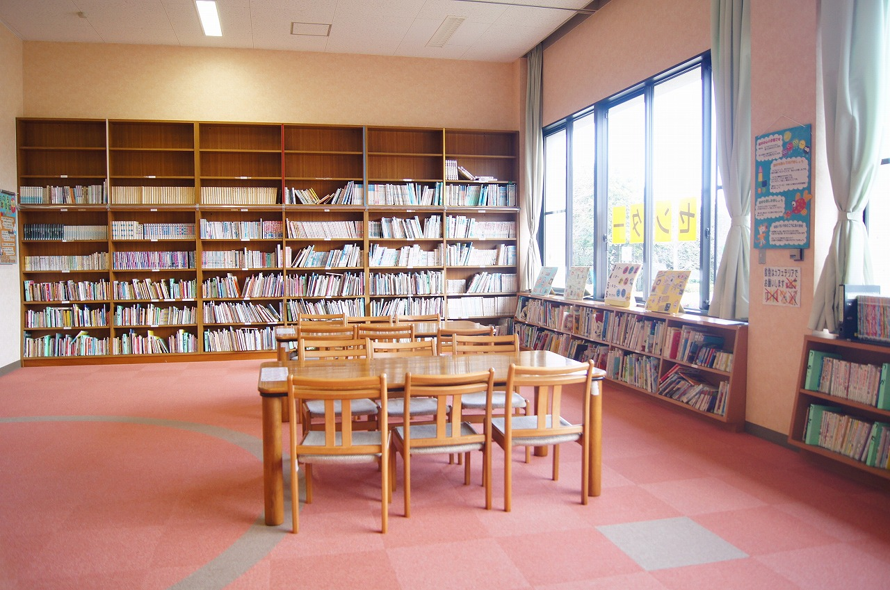 小学校の図書室みたいです
