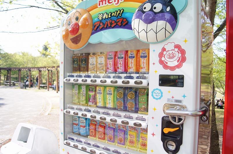 購入率高いアンパンマン自販機