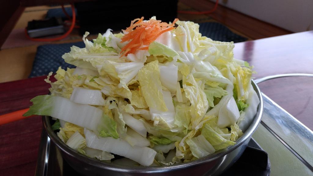 【長浜市のおいしくてリーズナブルなランチまとめ】びわこ食堂の「とりやさい鍋」