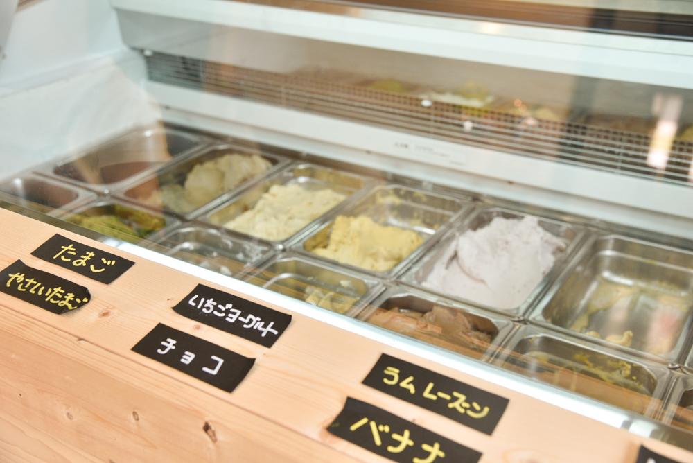 【東近江市のおすすめスイーツ店まとめ】かなめカフェ~食育体験型アイスクリームcafe~のアイスクリームラインナップ